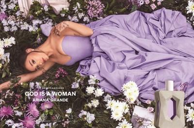 Ariana Grande, ganadora del premio Grammy® y artista multiplatino, ingresa a la categoría de belleza limpia con el lanzamiento de God is a Woman, una nueva fragancia inspirada en el poder de la naturaleza