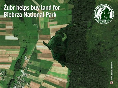 The Żubr beer brand helps buy land for Biebrza National Park in Poland to protect endangered species