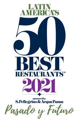50 Best Restaurants 2021 Logo